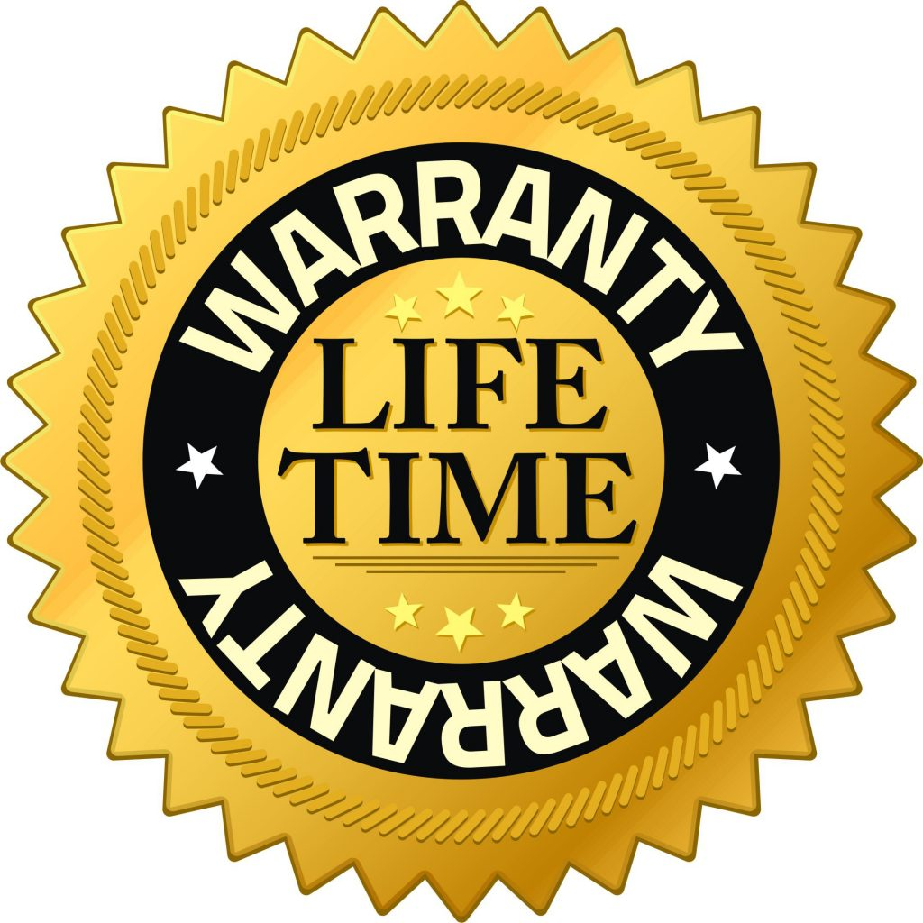 Life time warranty Logo