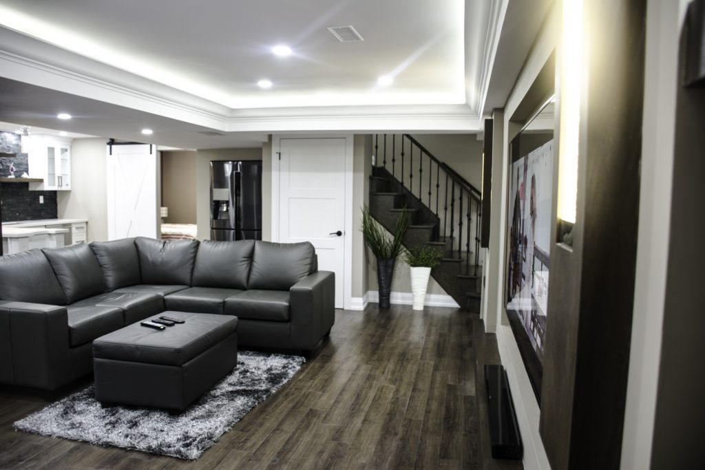 Finished-basement-Harmony-Basements image