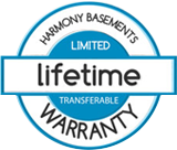 Lifetime warranty on our basements