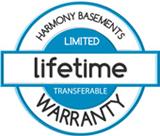 Lifetime warranty on our basements
