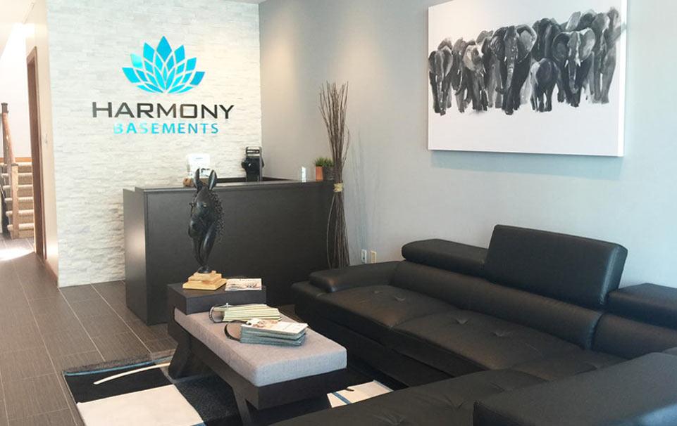 Harmony Basements Showroom