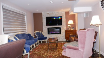 gaudi basement furnishing ideas richmond hill