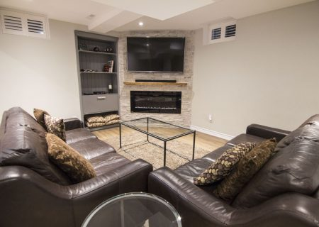 Finished Basement – Kleinburg