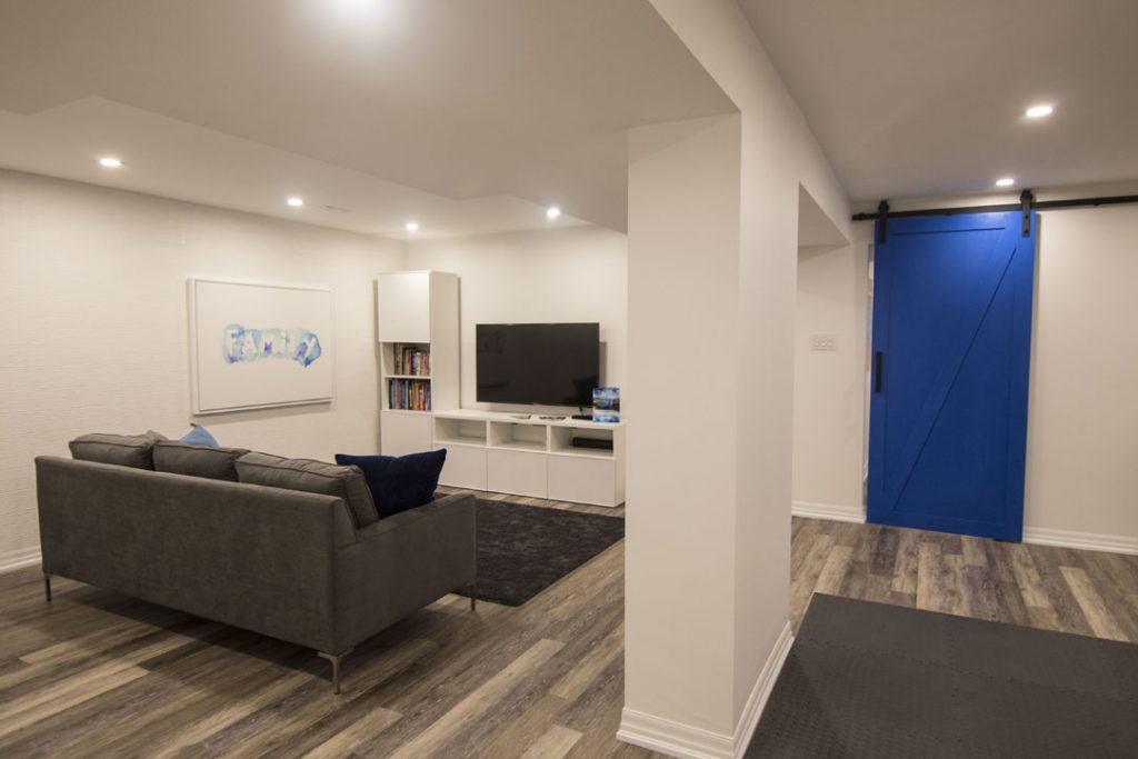 Full-View-Finished-Basement Richmond Hill