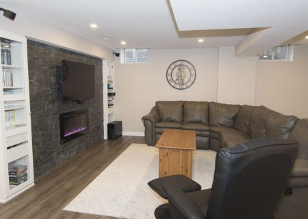 Finished Basement – Oakville