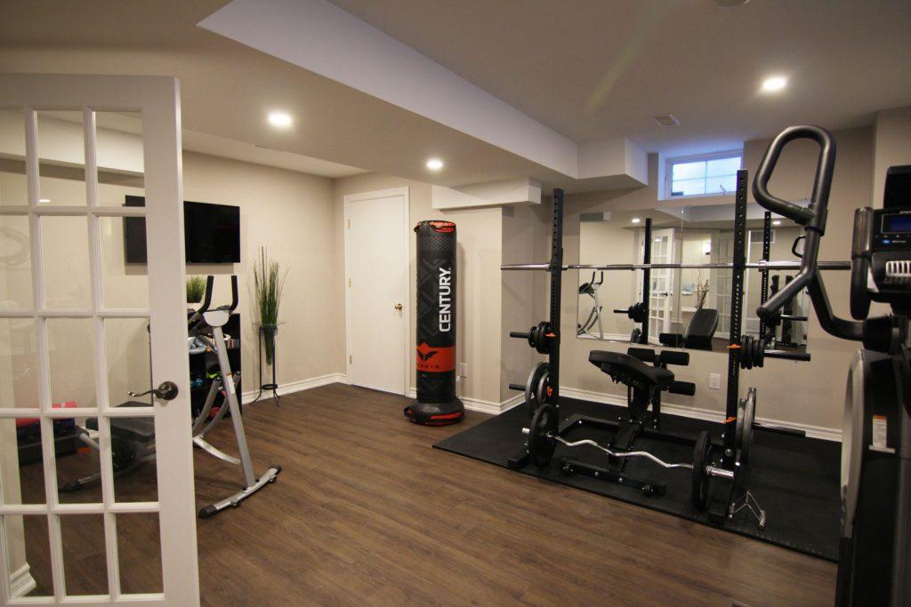 Gym in basement Hamilton
