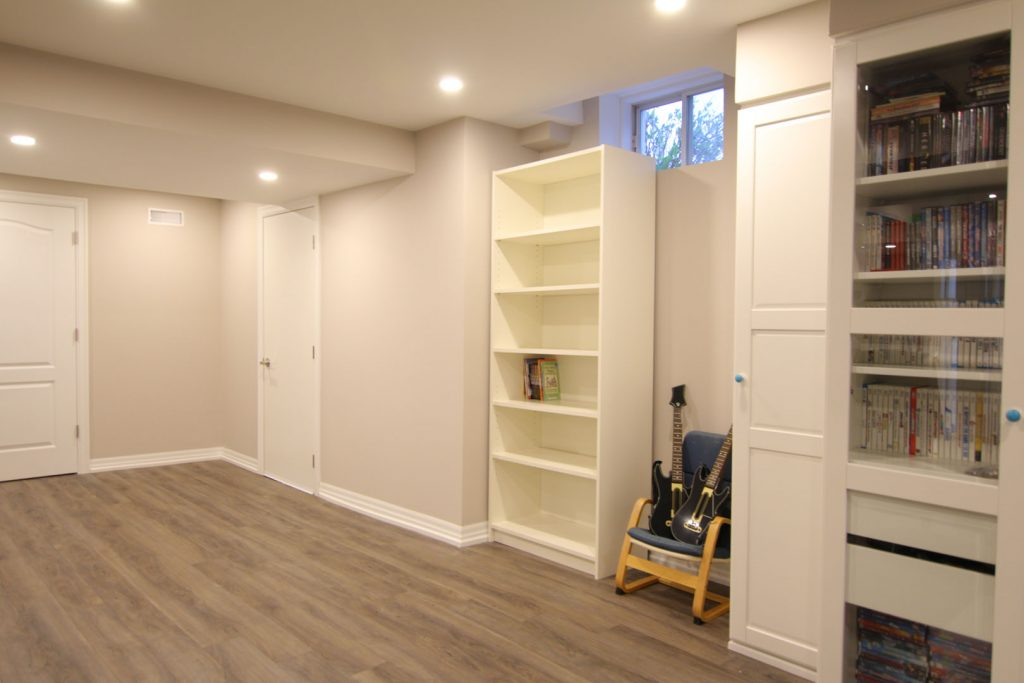 Basement renovation Nobleton