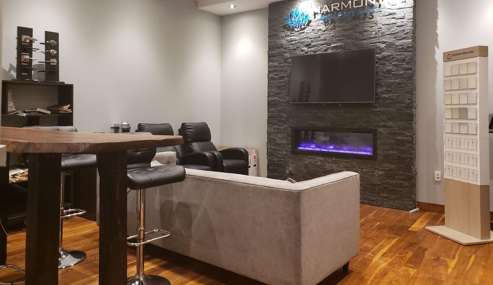 Harmony basements office
