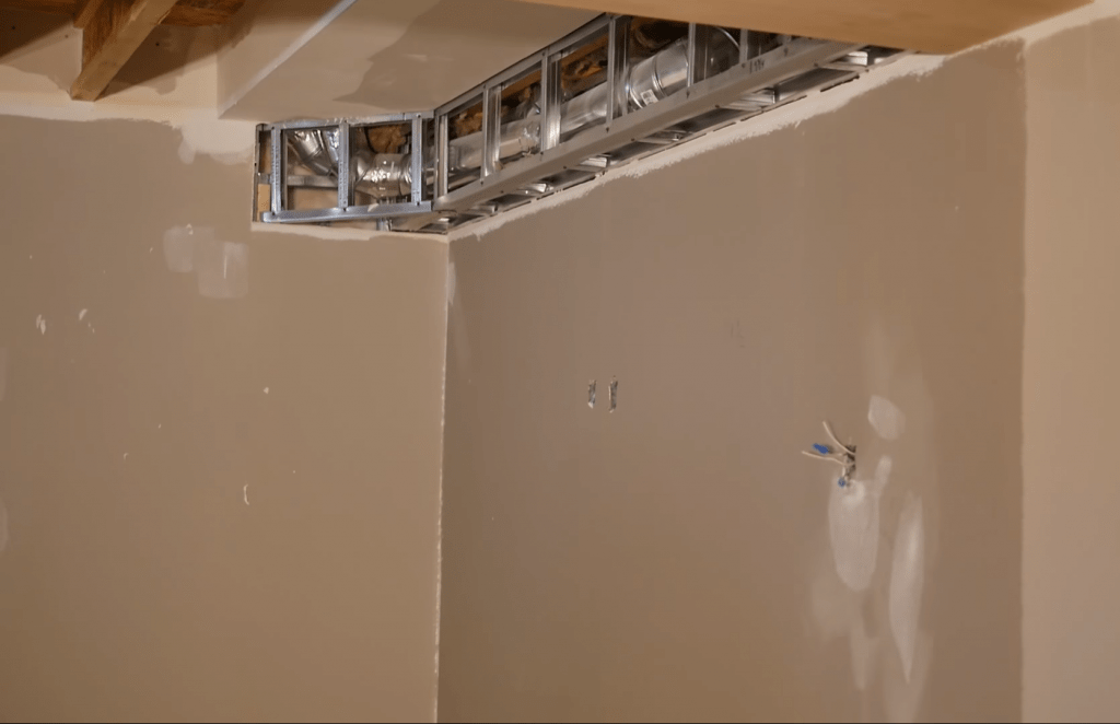 Filling in the gaps in ceiling