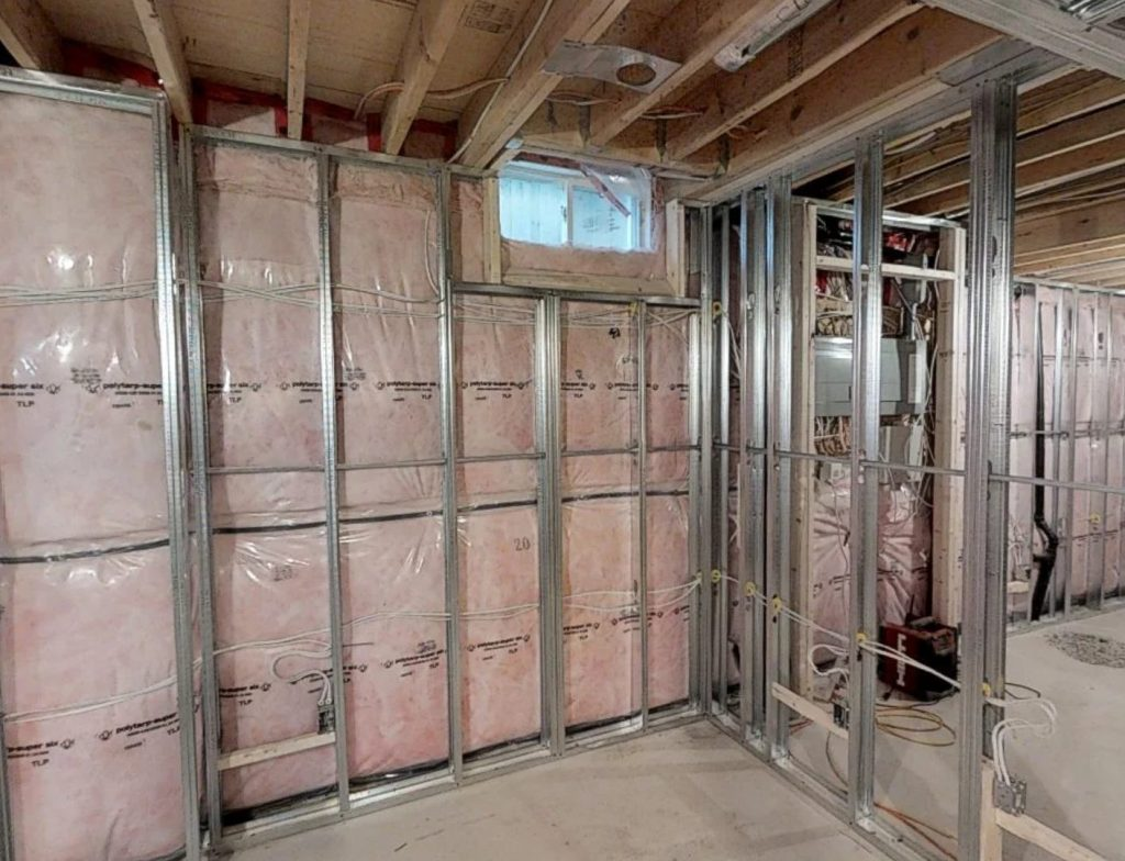 Image of Basement sound insulation