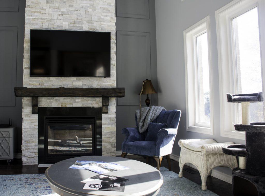 Basement Living Room Design Markham