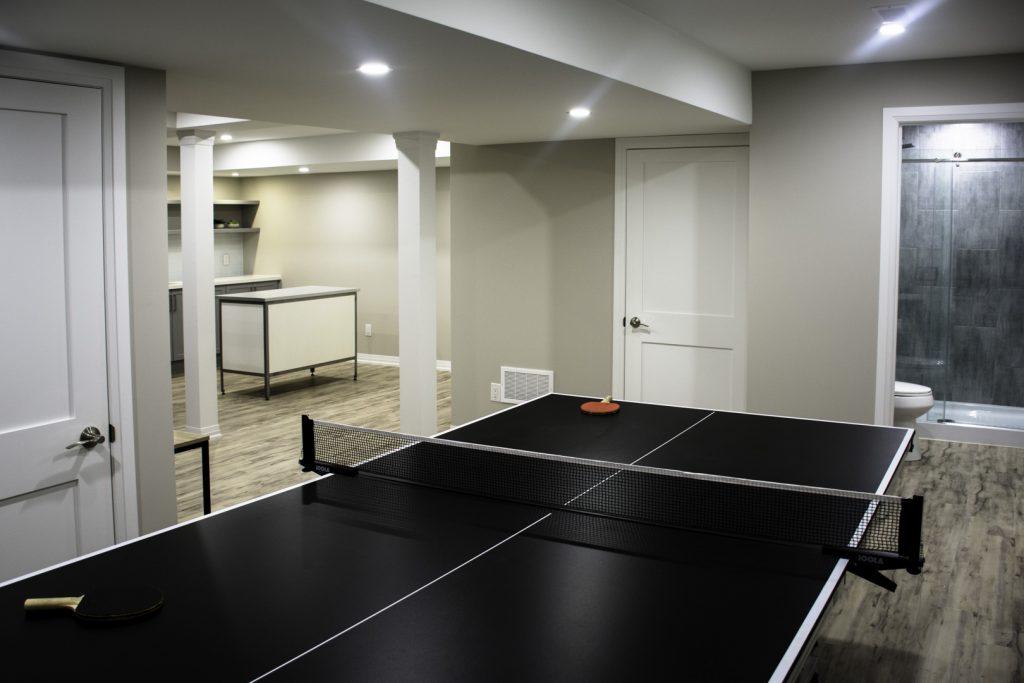 Amazing Gaming Room in Custom Basement - Basement Renovation Vaughan