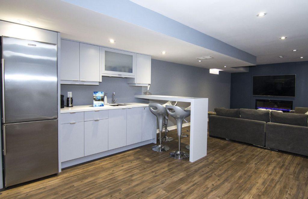 Basement Kitchen Renovation Project Mississauga
