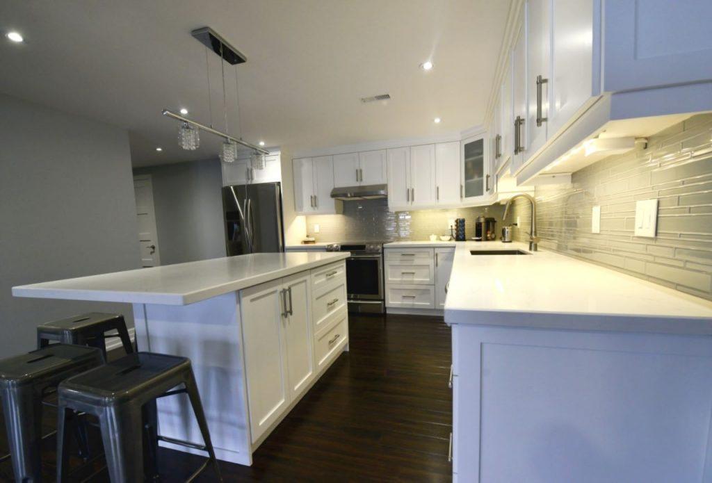 Modern Basement Kitchen Design Nobleton