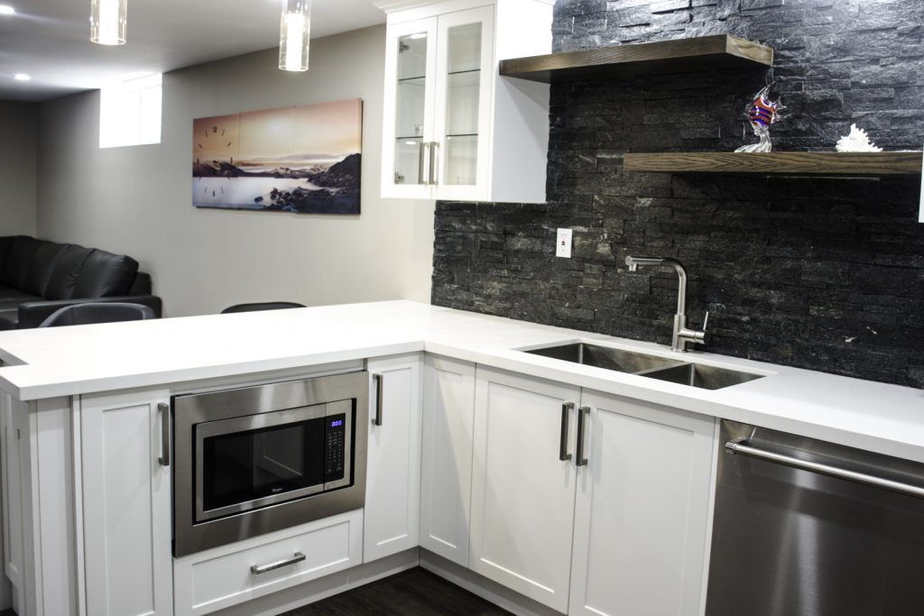 Amazing Basement Kitchen Design Woodbridge