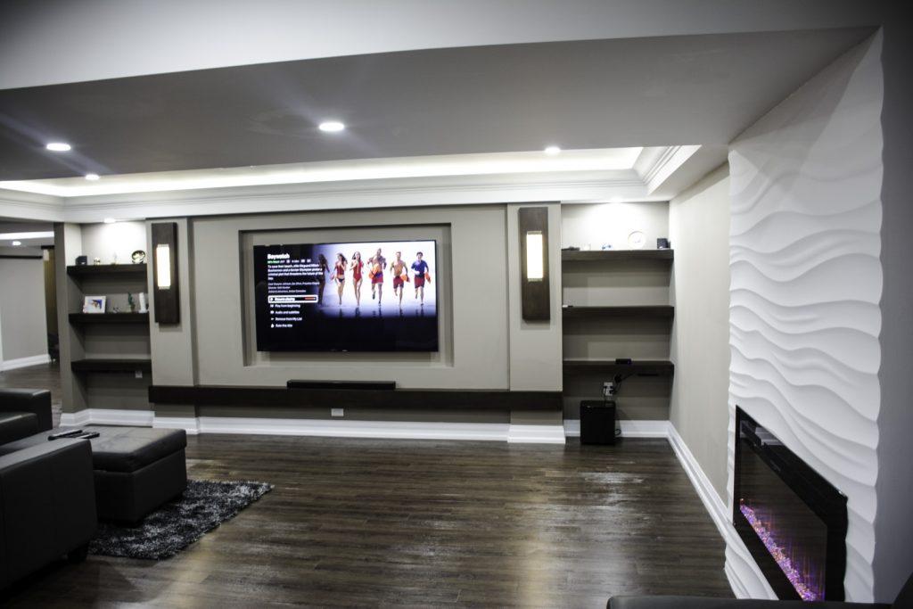Luxury Basement Finishing Project Vaughan