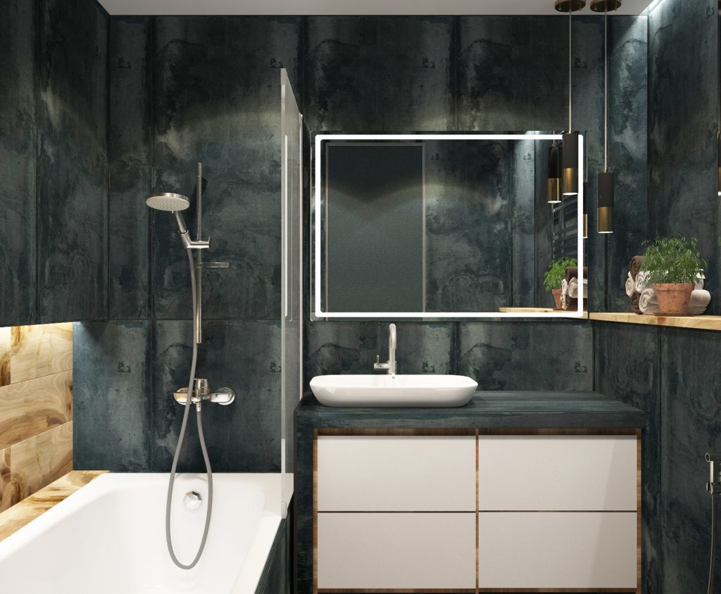 Amazing Bathroom Remodeling by Harmony Basement