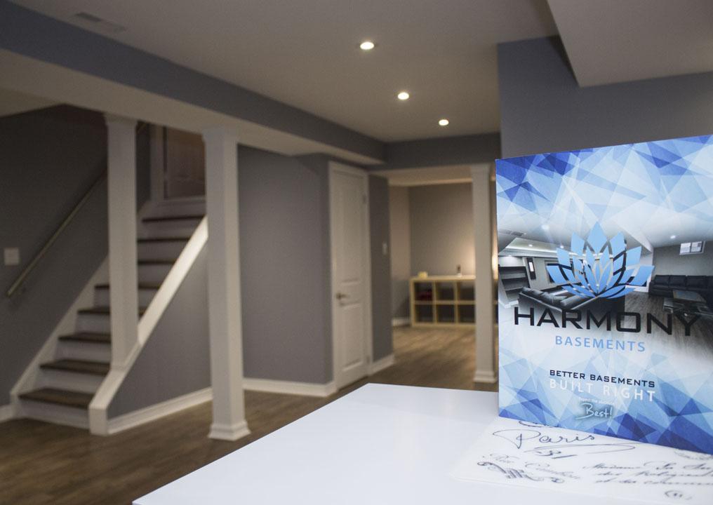 Harmony Basements Renovation Project Markham